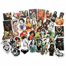 Sexy Bumper Stickers Decals & Magnets Tattoo Women Princess