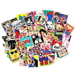 Sexy Stickers Decals Vinyl Art Work Vintage Retro Stickers F