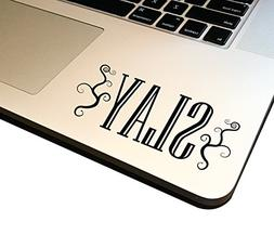 "SLAY 4"" Decal _ Vinyl motivational STICKER for laptop journa"