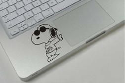 Snoopy Leaning Apple Macbook Laptop Air Pro Decal Sticker Sk
