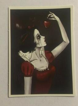 Snow White Goth Sexy Disney Princess Decal Pinup Sticker Ska