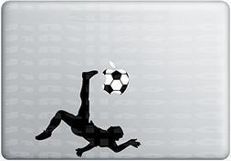 Soccer Macbook Decal Mac Decal Macbook Pro Laptop Sticker Vi
