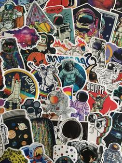 Spaceman Men on the Moon Astronaut Cosmos Sticker Laptop Ska