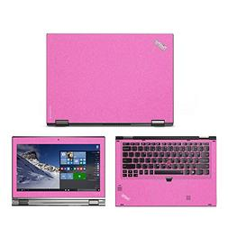Sparkling Pink skin decal wrap skin Case for Lenovo Yoga 260