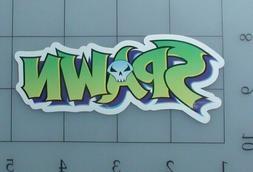 Spawn sticker logo skate cell laptop bumper vinyl decal weat