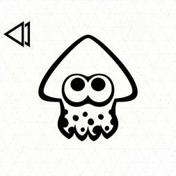 Splatoon 2 Squid Logo Vinyl Decal Sticker Car Laptop - Ninte