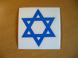 Star of David #1 in Brilliant Blue Jewish Israel Hebrew Deca
