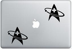 Star Trek Medical Communicator Insignia ArcDecals78602695 Se