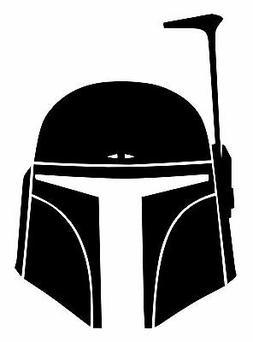 Star Wars Boba Fett Vinyl Decal - bounty hunter Sticker Car