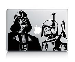 Star Wars Darth Vader And Boba Fett--Macbook Laptop Vinyl St