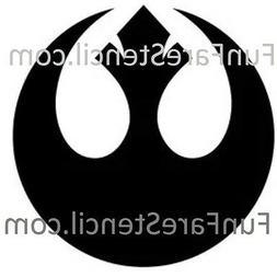 Star Wars REBEL Alliance Die Cut Vinyl Decal - Sticker Car W