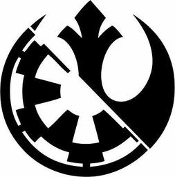 Star Wars Rebel Alliance Galactic Empire Sticker Vinyl Decal