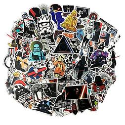 100 Pcs Star Wars Sticker Pack,Unique Cool Stickers Notebook