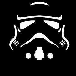 Star Wars Storm Trooper MINIMAL Sticker Vinyl Decal Car Lapt