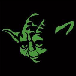 Star Wars - Yoda Sticker / Decal - Choose Size & Color - Lap