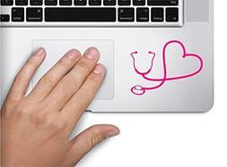 stethoscope heart rn nurse symbol