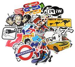 KONLOY Sticker Pack 50-Pcs Sticker Decals Vinyls for Laptop,