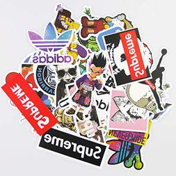 KONLOY Sticker Pack 100-Pcs Sticker Decals Vinyls for Laptop