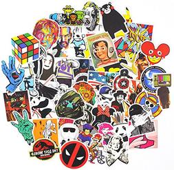 Sticker Pack ,Sanmatic Sticker Decals Vinyls for Laptop,Cars