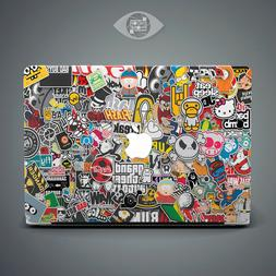 Sticker Bombing Laptop Hard Cover Case For Macbook Pro 13 Re