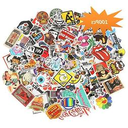 pack of 100pcs Sticker Decals for Laptop,Kids,Cars,Motorcycl