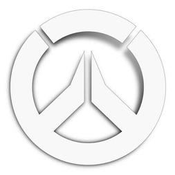 Sticker - Overwatch - Logo Decal New Gift Toys j6231