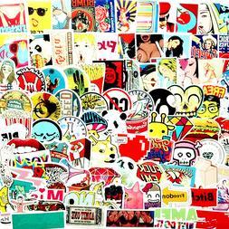 200Pcs Stickers Random Adult Fun Laptop Decals Skateboard Do