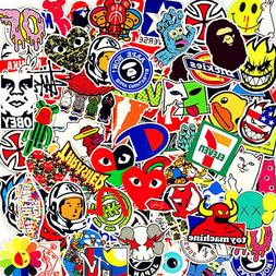 Stickers 100 Skateboard Vinyl Car Laptop Luggage Decals Dope
