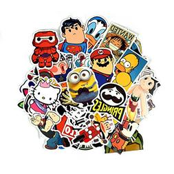 Homerity 100Pcs Stickers Skateboard Stickers Car Stickers La
