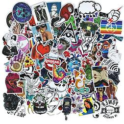 Cool Teens 100 Pieces Cool Stickers Pack Waterproof Funny Gr