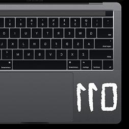 STRANGER THINGS 011 Eleven Macbook Laptop Vinyl Die Cut Deca