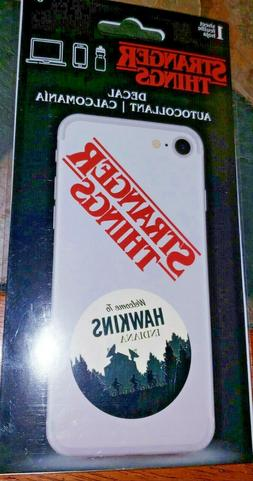 STRANGER THINGS WELCOME TO HAWKINS cell phone/ laptop Decal