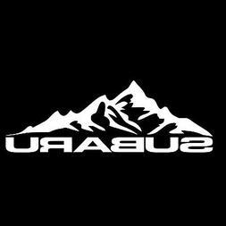 Subie Mountain Life Vinyl Decal - Car Window Laptop Sticker