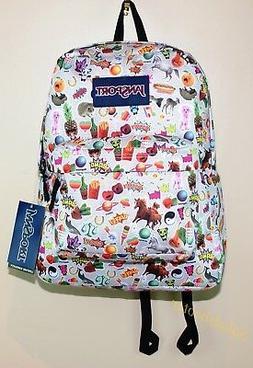 JanSport SuperBreak School Laptop Backpack Book Bag Multi St