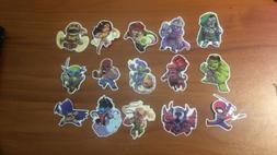 superhero stickers marvel Dc Comics Avengers Comicbooks For