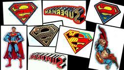 SUPERMAN SUPERGIRL LOGO LAPTOP STICKER DECAL~DC COMICS SUPER
