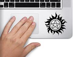 Supernatural Symbol Decal Funny Laptop Skin Macbook Trackpad