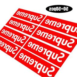 Supreme Laptop Stickers 100 Pack Vinyl Sticker Graffiti Deca