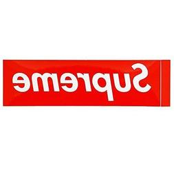 Supreme Skateboard Sticker Red 2 Pack