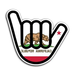 SURF CALIFORNIA -  Shaka JDM Decal Sticker for Car Truck Mac