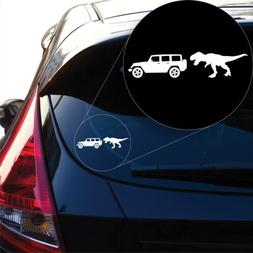 T-Rex Jeep Decal Sticker for Car Window, Laptop and More # 1