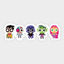 Teen Titans Go! Cartoon Sticker Vinyl Decal for Car Bumper L