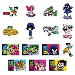 Teen Titans Go! Set of 15 Stickers