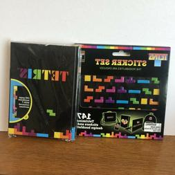 Tetris Sticker Set Notebook Loot Crate Nerd Gaming Accessori