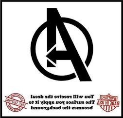 The Avengers Logo Die Cut Decal - Car Truck Wall Laptop Wind