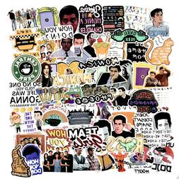 The Friends TV Show Skateboard Stickers Vinyl Laptop Luggage