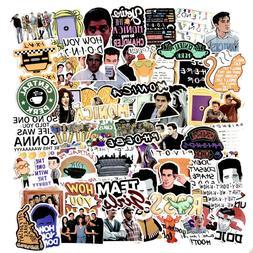the friends tv show skateboard stickers vinyl