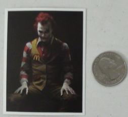 The joker sticker  batman dc comics mcdonalds skate skateboa