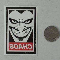 The joker sticker obey parody batman dc comics skate cell la