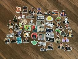 The Office sticker Pack Lot of 50 Decal Laptop Waterbottle F